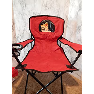 Personalized Amazing Woman Folding Chair (CHILD SIZE): Handmade