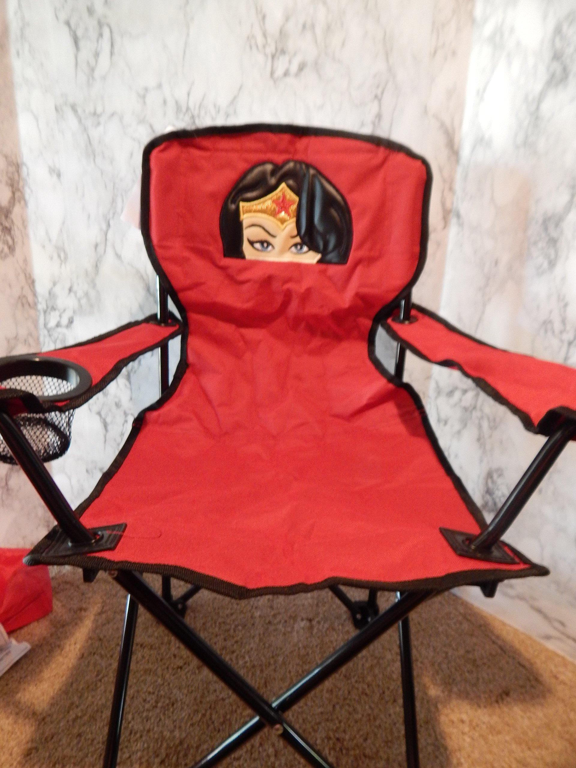 Personalized Amazing Woman Folding Chair (CHILD SIZE) by 3 Chicks Sewing