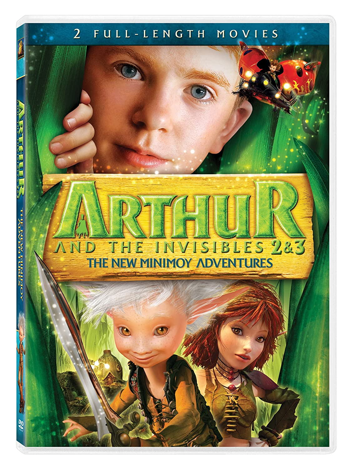 Amazon Com Arthur And The Invisibles 2 3 The New Minimoy Adventures Freddie Highmore Mia Farrow Selena Gomez Snoop Dog Lou Reed Movies Tv