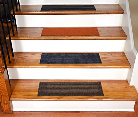 Dean Affordable DIY Non Skid Carpet Stair Treads (Set Of 13) 23u0026quot;