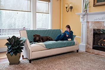 Deluxe Reversible Quilted Furniture Protector. Two Fresh Looks In One. By Home  Fashion Designs