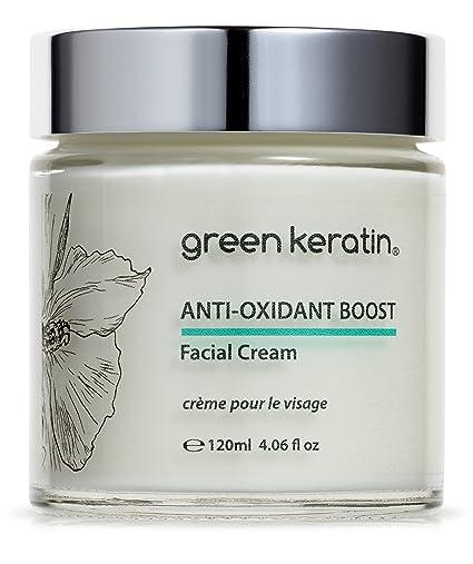 Green Keratin Crema Facial Antiedad con Triple Té (Verde, Blanco y Rooibos) |