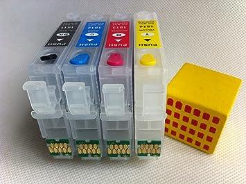 Bureaux Pour Xp : Marque f ink t vide rechargeable cartouche d encre pour