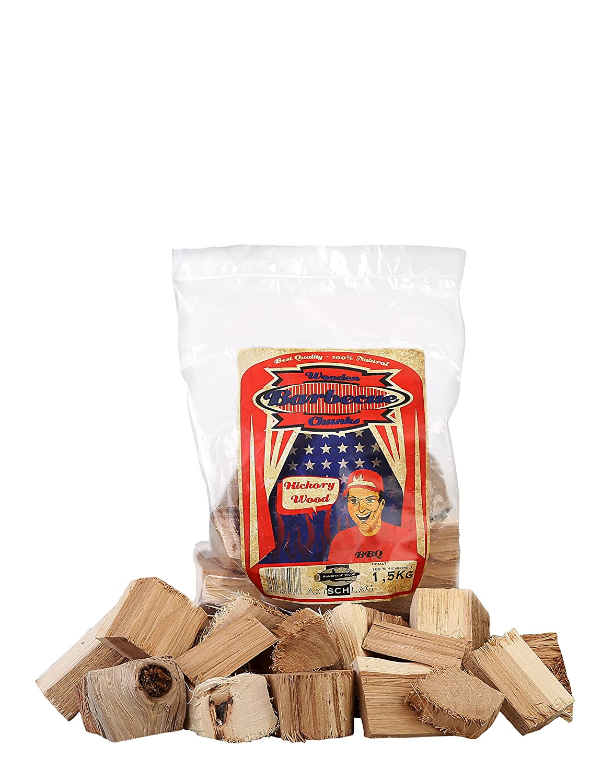 Axtschlag bûches en Bois pour Barbecue, 1,5kg Hickory 1,5 kg 100G04M0800V