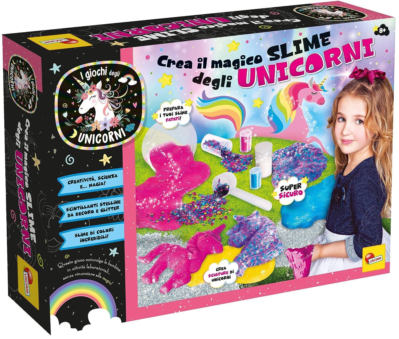 Lisciani Giochi Crea i Magici Slime degli Unicorni,, 70336