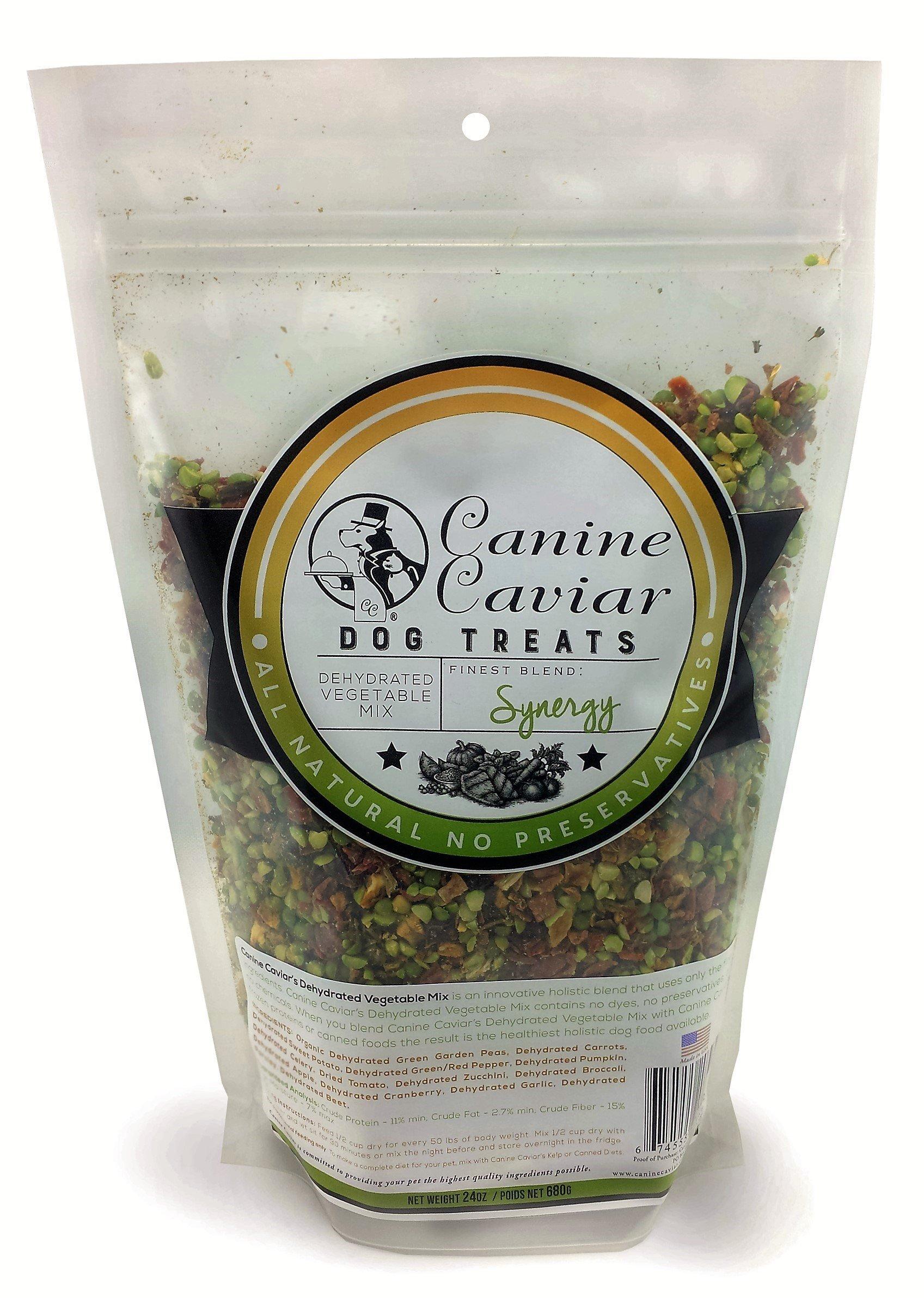 Canine Caviar Splmt Synergy Veg Mix 24Oz