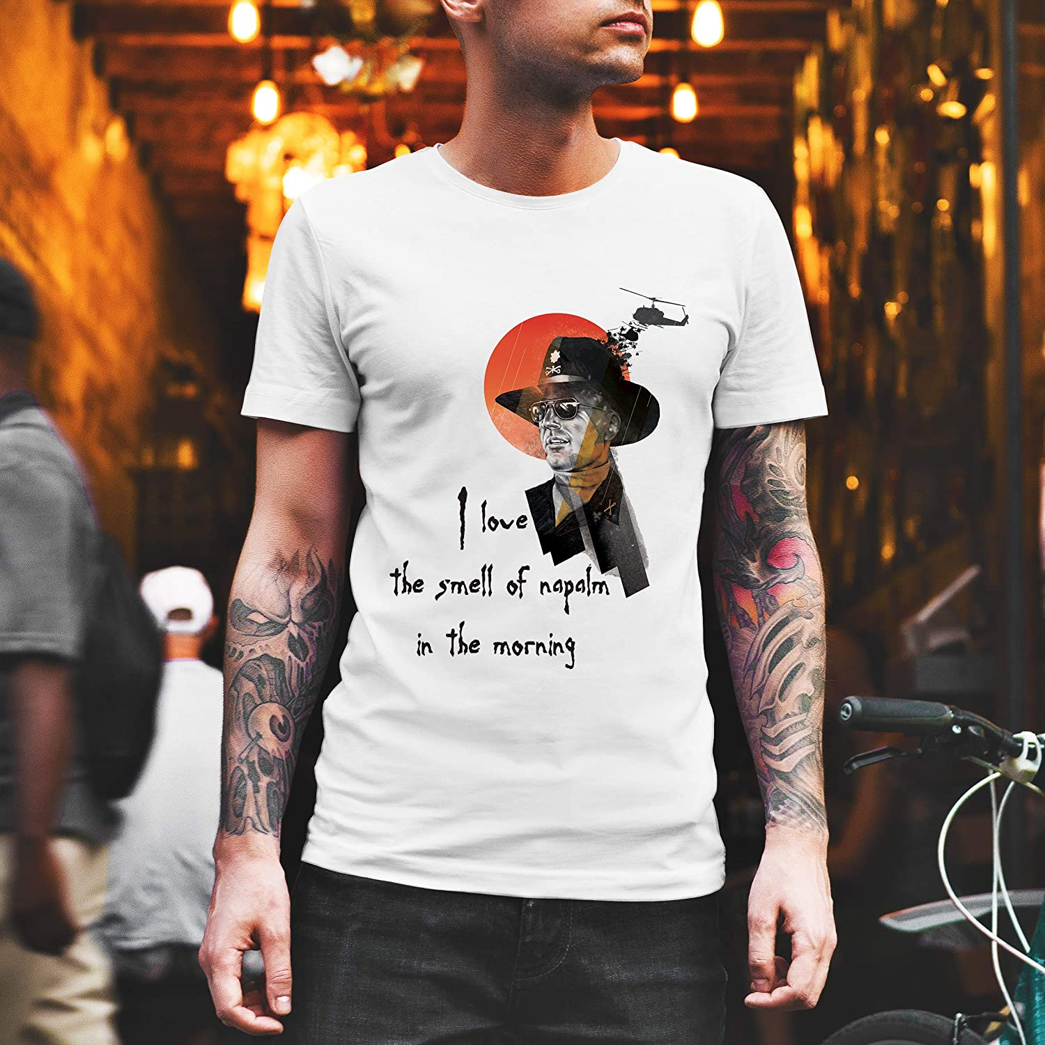 Long Sleeve Apocalypse Now s I Love The Smeel Of Napalm In The Morning T Shirt Sweatshirt Hoodie for You