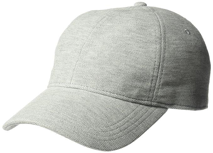 Lacoste Hombres Mens Cotton Pique Cap, Rk0123 Gorra de béisbol - Gris -