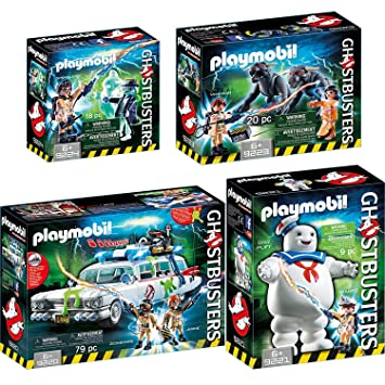 d39d0c497aff8 PLAYMOBIL® GhostbustersTM Set  9220 9221 9223 9224 Ecto-1 + Stay ...