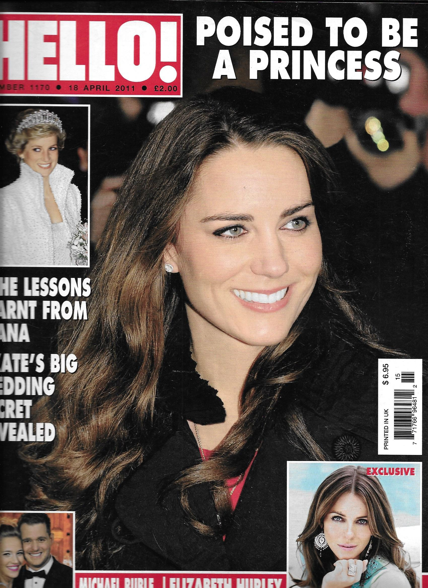 Hello magazine April 18 2011 Kate Middleton PDF ePub ebook