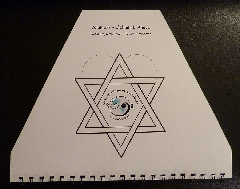 World of Harmony Music; L'Chaim b'Ahava To Chaim with Love ~ Jewish Favorites for Zither, Lap Harp