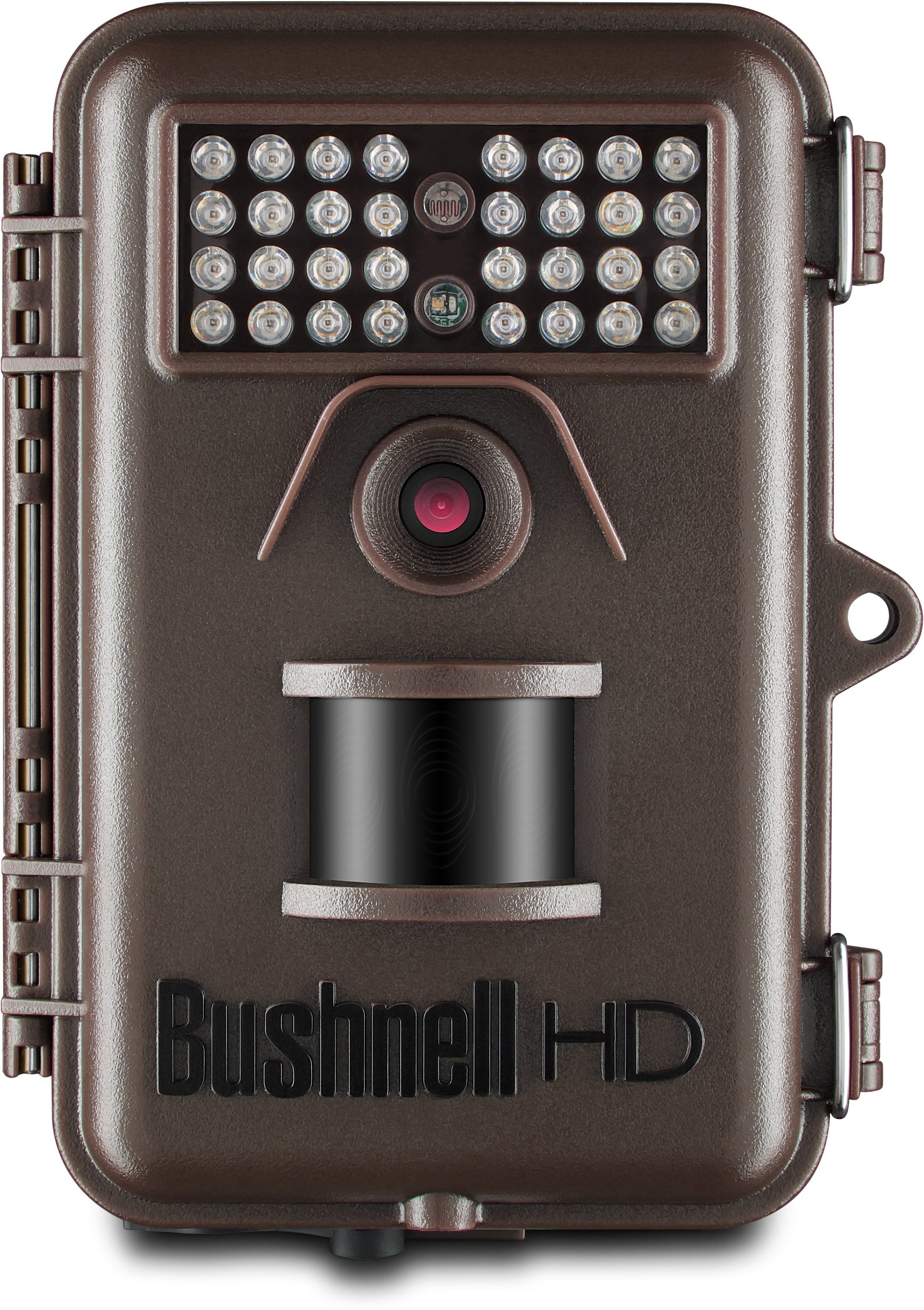 bushnell 12mp trophy cam hd essential low glow trail camera brown. Black Bedroom Furniture Sets. Home Design Ideas