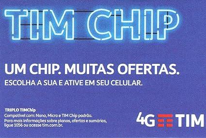 Amazon.com: Brasil tarjeta SIM de prepago by Tim: Cell ...