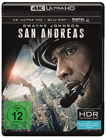 San Andreas (4K Ultra HD) [Alemania] [Blu-ray]