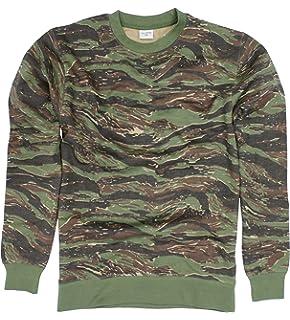 30de1f2e248da Rothco Men's Long Sleeve BDU Shirt L Tiger Stripe Camo: Amazon.co.uk ...
