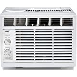 Arctic King Window Air Conditioner with Mechanical Controls, 5,000 BTU Mini Compact Air Conditioner for 150 Sq.ft Room, WWK05