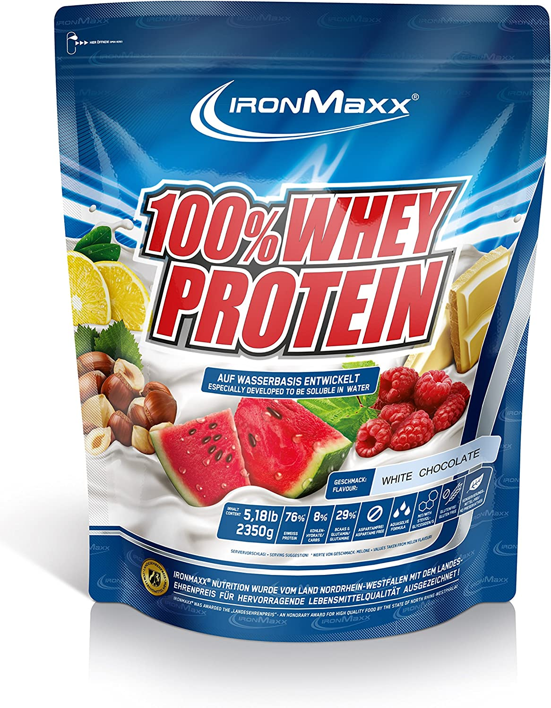 IronMaxx Ironmaxx Sabor Chocolate Blanco 100% Polvo Proteína ...