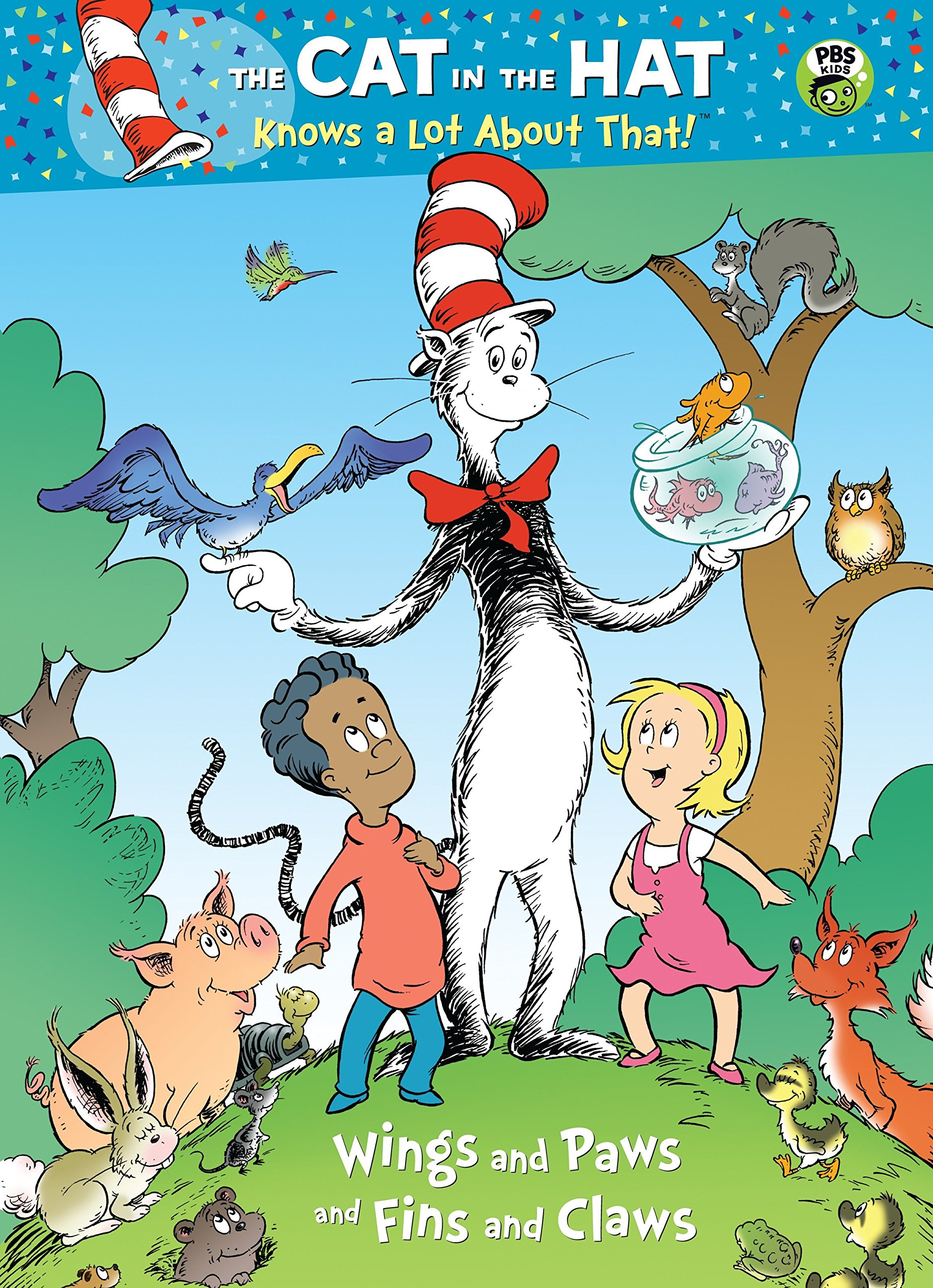 - Buy Wings And Paws And Fins And Claws (Dr. Seuss/Cat In The Hat