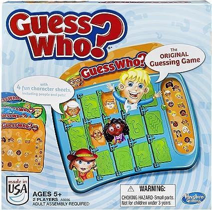 Guess Who Game by Hasbro: Amazon.es: Juguetes y juegos