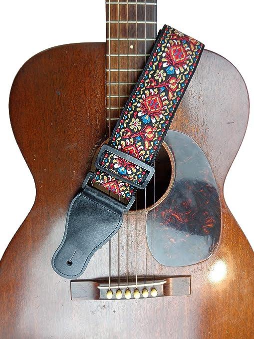Correa para guitarra eléctrica acústica, estilo retro, estilo ...
