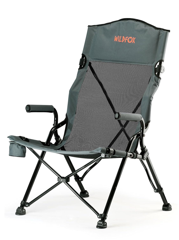 Wildfox Campingstuhl Luxus grau Modell 2016