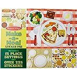 Melissa&Doug 美丽莎和豆豆 我是小主厨贴纸板(亚马逊进口直采,美国品牌)