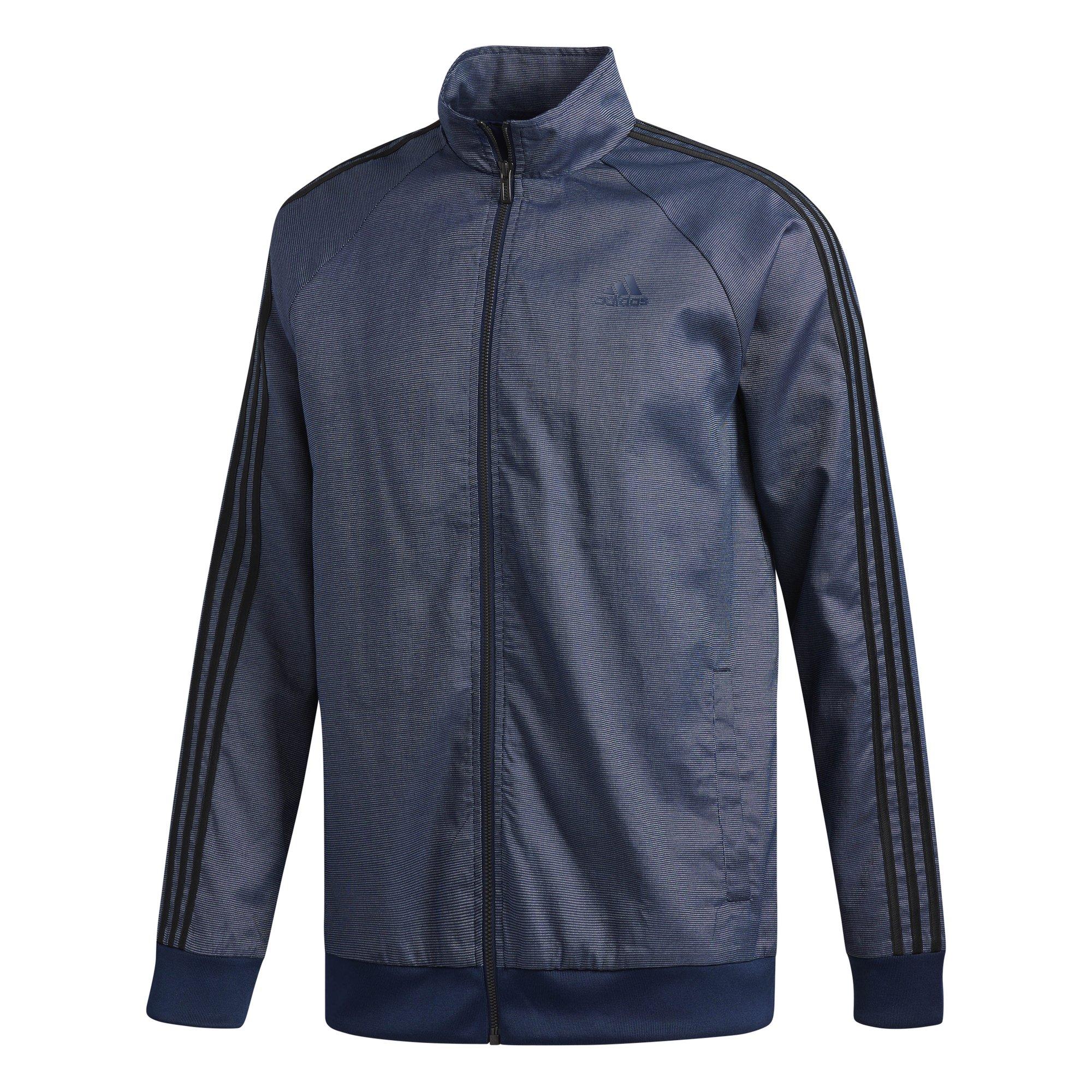 961d2cad91f99 adidas Men's Essentials 3-Stripe Woven Track Top Collegiate Navy/Black  XX-Large