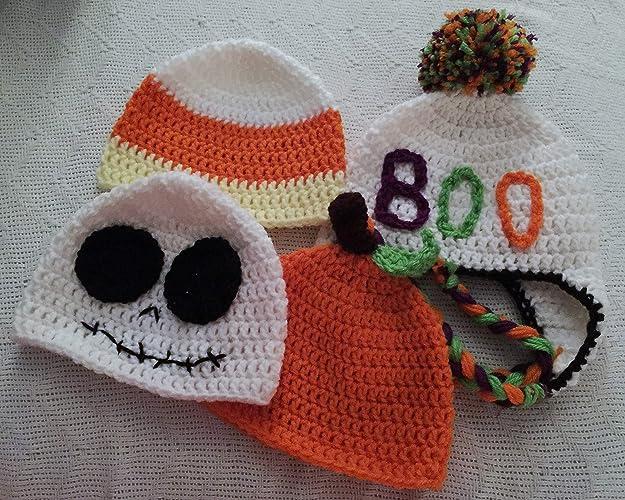 Amazoncom Crochet Halloween Character Hat Beanies Handmade