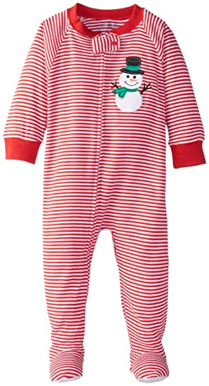 16d534ddd9 Amazon.com  Sara s Prints Baby Girls  Footed Pajama