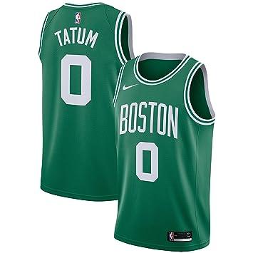 POYVNBA NBA Celtics Jayson-Tatum 0 Swingman Men Jersey (Verde, S): Amazon.es: Deportes y aire libre