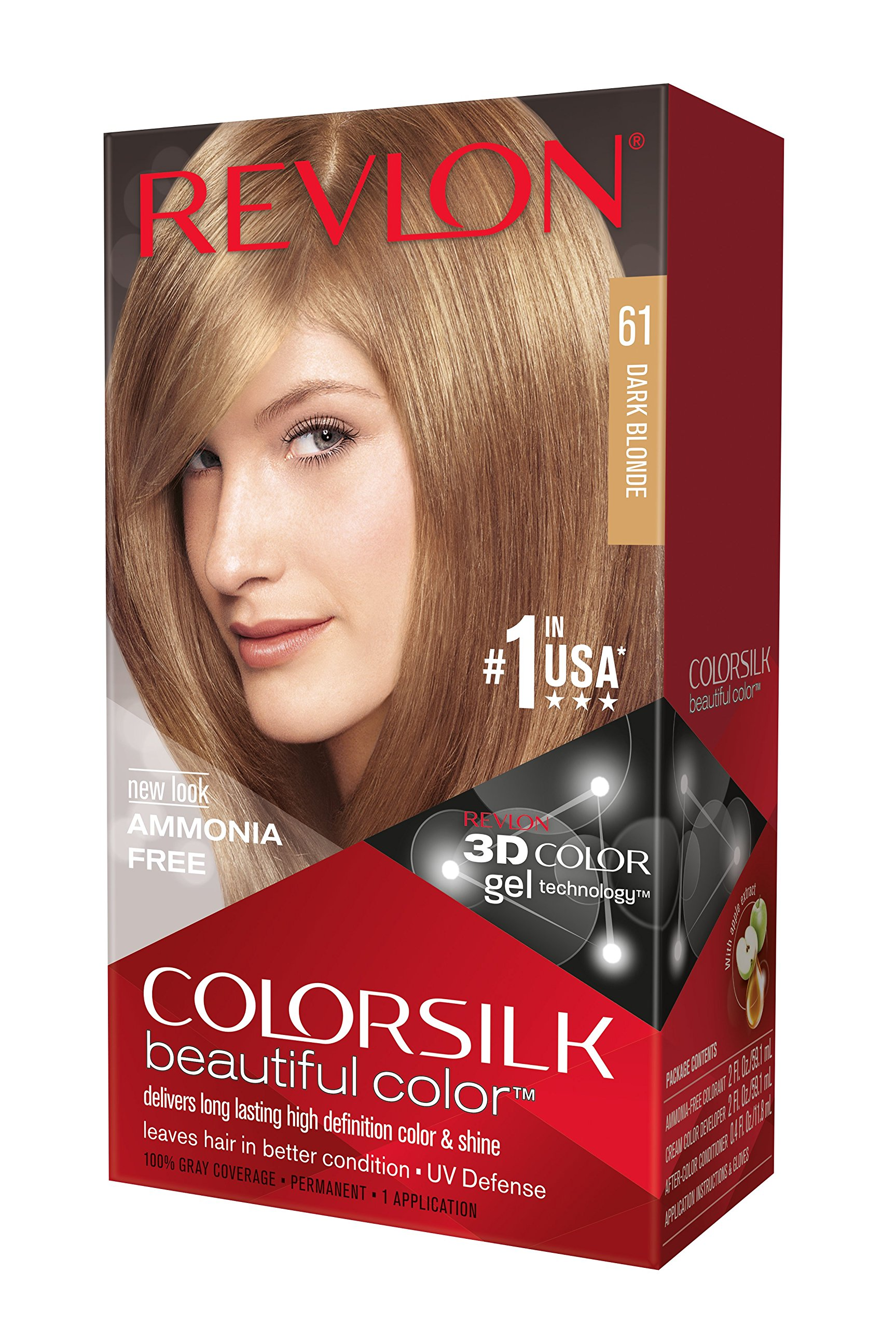 Amazon Revlon Colorsilk Beautiful Color 51 Light Brown By