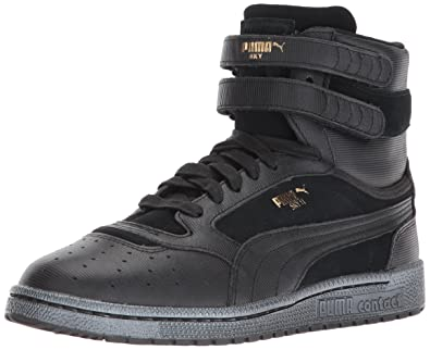 Puma Damen Sky II Hi Anod Sneakers 37.5 EU Black Black
