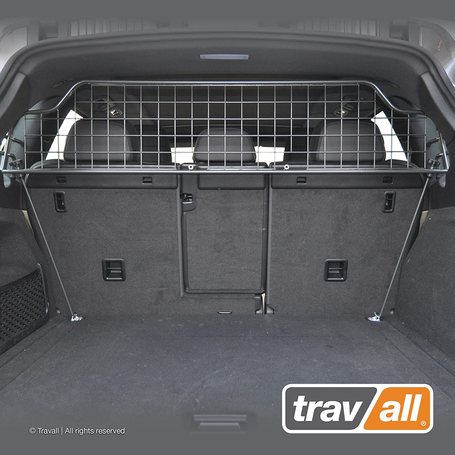 Travall Guard Compatible with Porsche Cayenne 2010-2017 TDG1326 – Removable Steel Pet Barrier