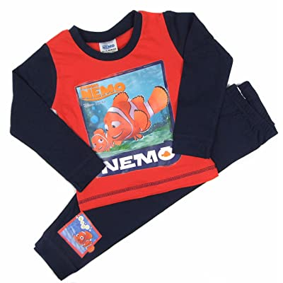 Finding Nemo Boys Girls Pyjamas Night Wear Set 12-18 18-24 Months 2-3 and 3-4Y