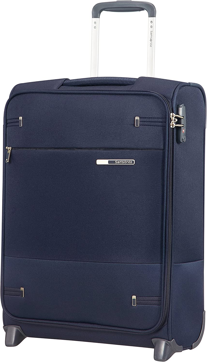 Samsonite Base Boost Upright S Equipaje de mano, 55 cm, 41 L, Azul (Navy Blue)