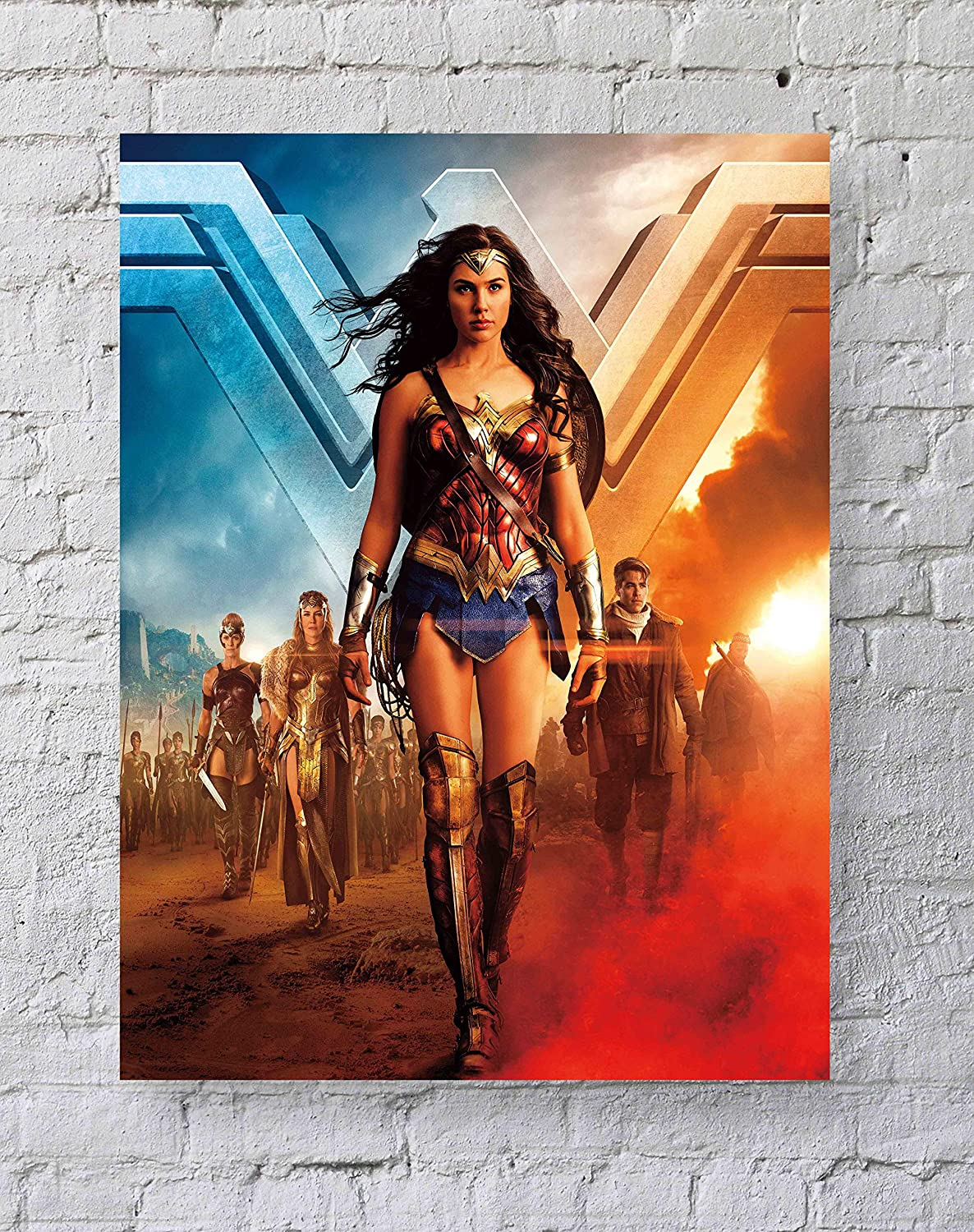 MeiMeiZ Wonder Woman MoviePoster Standard Size | 18-Inches by 24-Inches |Wonder Woman Posters Wall Poster Print