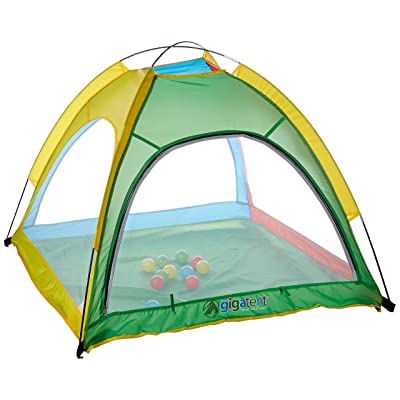 Gigatent Pop Up Playhouse Tent - Indoor/Outdoor for Boys and Girls – 12 Colorful Ball & Carry Case: Toys & Games