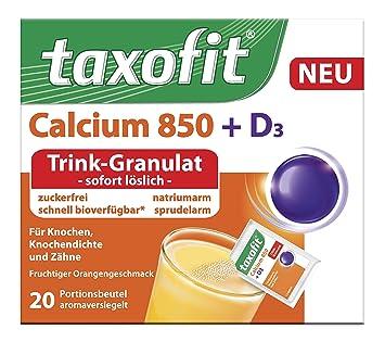 Amazon.com: Taxofit Calcio 850 + D3 trinkgranulat: Health ...
