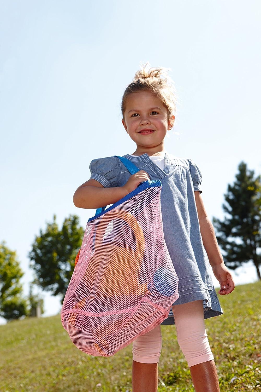 Haba 7782–libro 7782–Borsa in Rete | Pratica borsa per il trasporto di sabbia giocattolo e altri giocattoli | nasses giocattolo può asciugare in borsa, Multicolore Habermaass GmbH