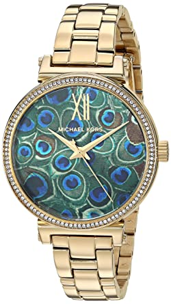 Image result for michael kors peacock watch