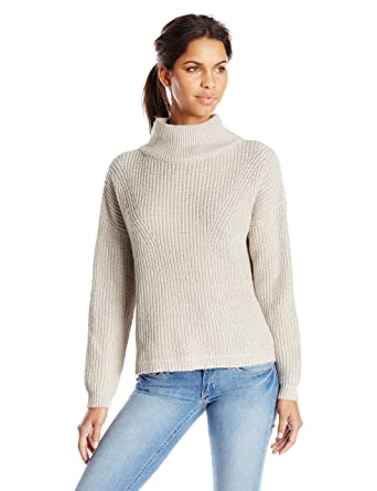 103c236c3 Amazon.com  French Connection Women s Otis Turtleneck Sweater  Clothing