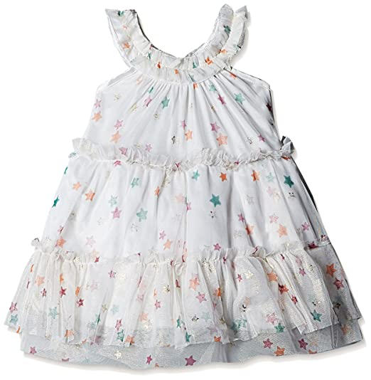 80e843686 612 League Baby Girls  Dress (ILS17I72005-3 - 6 Months-White ...