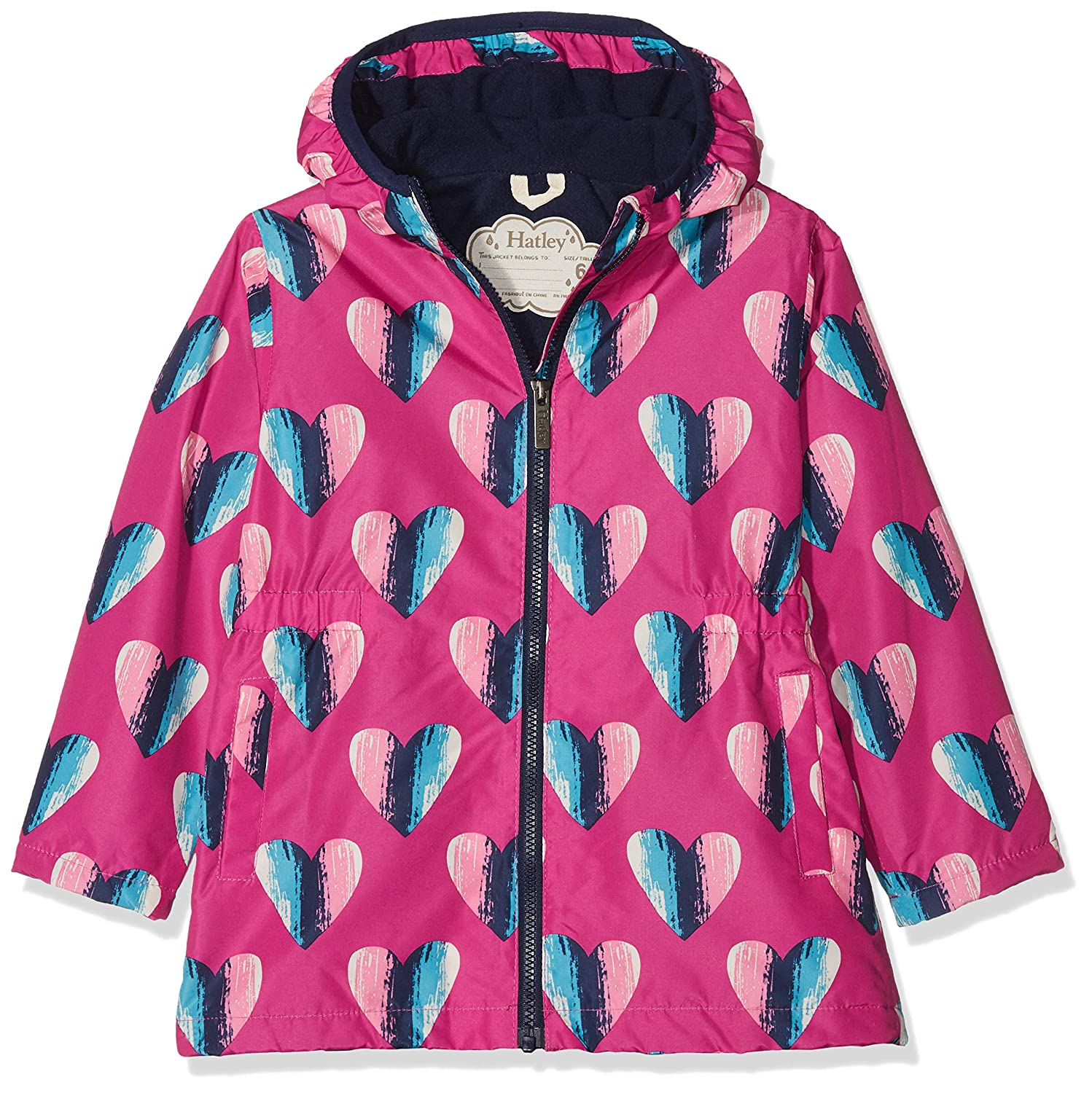 Hatley Girl's Microfiber Rain Jackets Raincoat