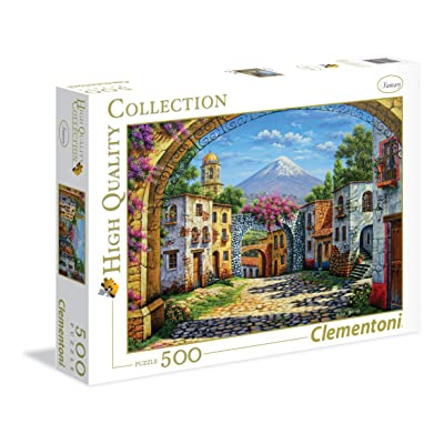 "Clementoni ""The Volcano Puzzle (500 Piece): Toys & Games [5Bkhe0702295]"