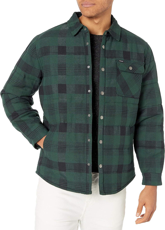 Brixton Men's CASS Standard FIT Street Jacket at  Men's Clothing store