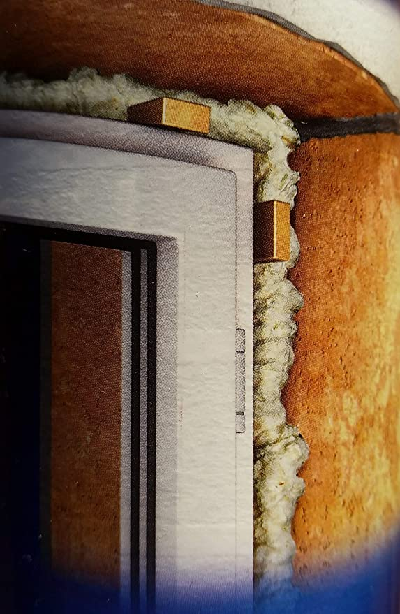 Espuma de poliuretano Berner 1-K de 750 ml de calidad para la ventana. Espuma de montaje para marcos de ventanas, bancos de ventana. Carro de refrigeración.