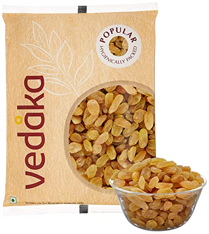 Amazon Brand - Vedaka Popular Raisins, 200g