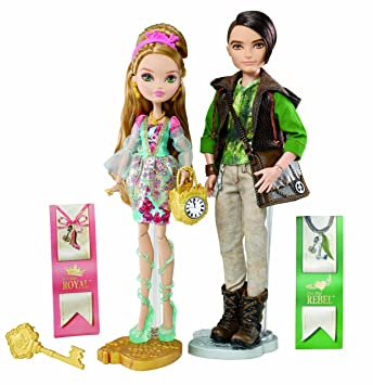 07ce1770e12c9c Mattel Ever After Lalka Ashlynn Ella I Hunter  ZABAWKA   Amazon.co ...