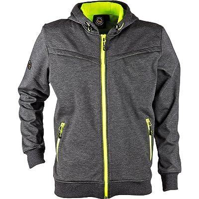 Stenso Jogger® - Veste Softshell d'extérieur - coupe-vent/imperméable - gris