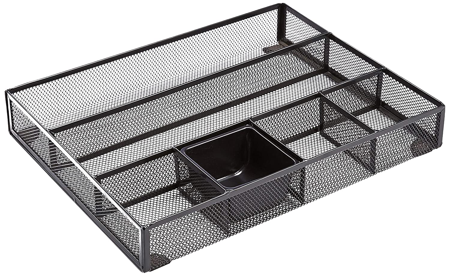 AmazonBasics Mesh Desk Drawer Office Organizer